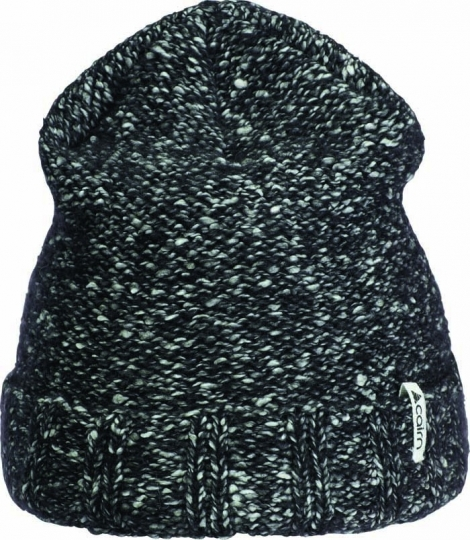 Bonnet CAIRN Romy Hat Black Chiné