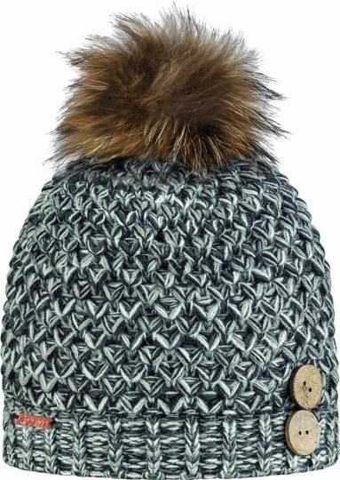 Bonnet CAIRN Melissa Hat Mixed Black